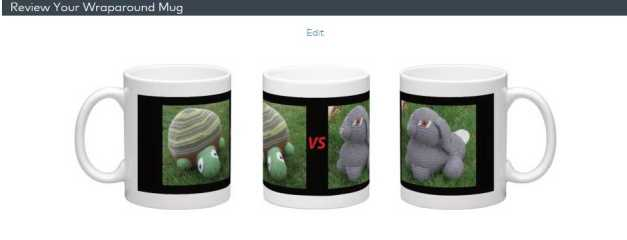 tortoise vs hare mug